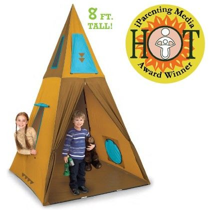 Giant Tee-pee 60 In X 60 In X 96 In - Pacific Play Tents
