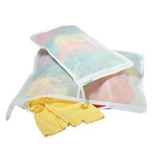 Laundry White Micro Mesh Laundry Bags Set 2 - Richard Homewares