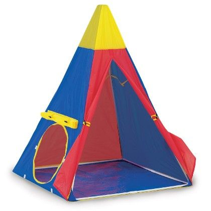 Tee-pee Play House 38 In X 38 In X 57 In - Pacific Play Tents