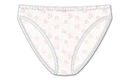Plus Hi Cut Brief White - Rene Rofe