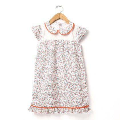 Floral Print A-line Dress - Buttercups