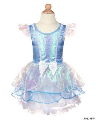 Fairy Tale Blue White Dress - My Princess Academy