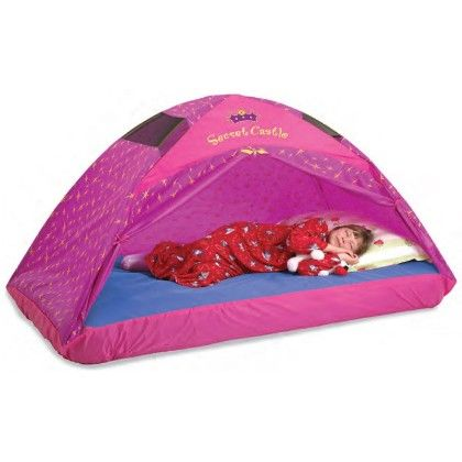 Secret Castle Bed Tent - 77 Inch X 54 Inch X 42 Inch - Full - Pacific Play Tents