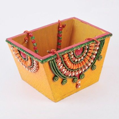Basket For Candies ,dry Fruit - Color Crave