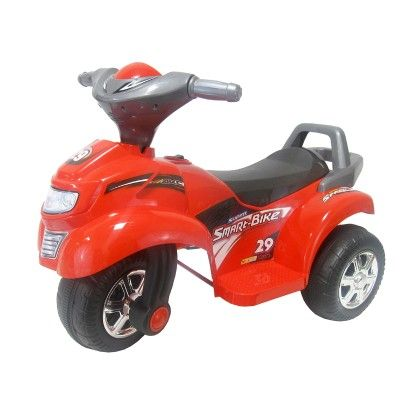 Motorized 3-wheel Motorcycle Ride-on Vehicle With Sound (red) - GLOPO