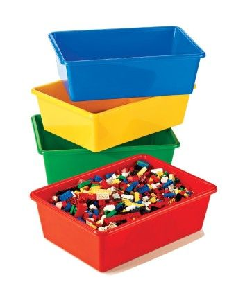 Large Primary Bin Pack - 4 Large Bins - Tot Tutors