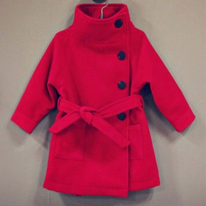 Hot Pink Long Coat - Lil Mantra