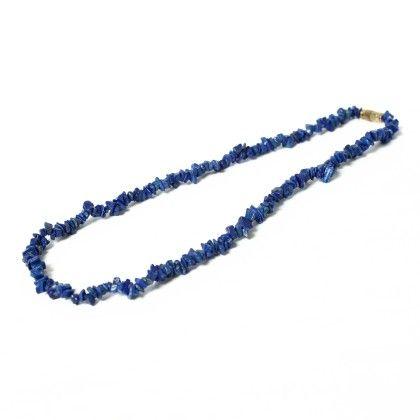 Blue String Neckpiece - Latitude - The Design Studio