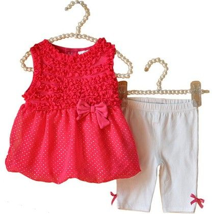 Pretty Kid Top And Leggings Set - Lil Mantra