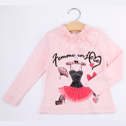 Pink Femme In Love Winter Top - Bella