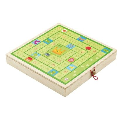 Classic Games Set (checkers, Mill, Ludo, Game Of The Goose) - Sevi