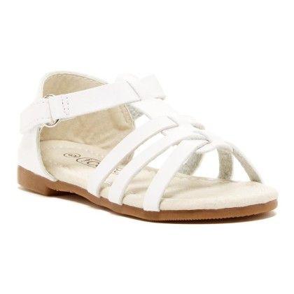 Slip On Play Sandal - White - COCO Jumbo