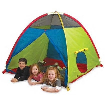 Super Duper 4 Kid Play Tent 58 In X 58 In X 46 In - Pacific Play Tents