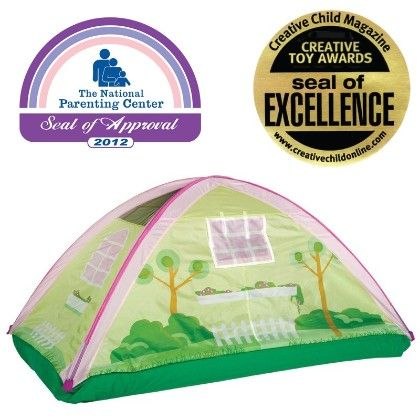 Cottage Bed Tent - 77 Inch X 38 Inch X 35 Inch - Pacific Play Tents