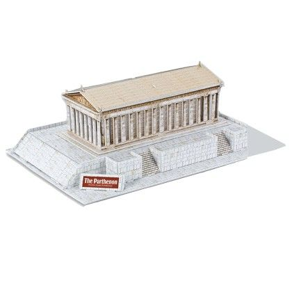 25-piece The Parthenon 3d Puzzle - GLOPO