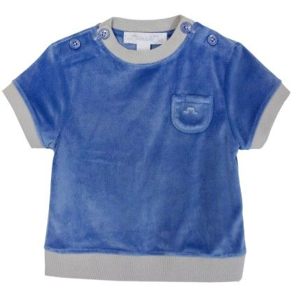 Max Boy T-shirt Blue - Chateau De Sable