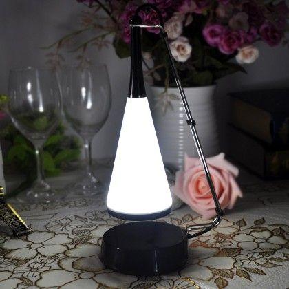 Table Lamp With Speaker-black - HitPlay