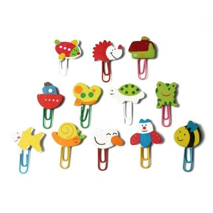 Assorted U-clips - Set Of 12 - Diya