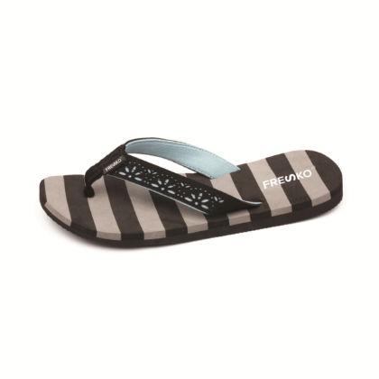 Multi Stripe Grey Fresko Shoes