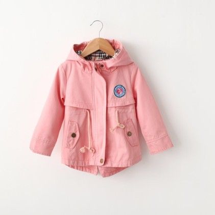 Peach Waist Tie Up Jacket - Lil Mantra