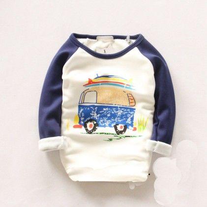 Blue Bus Sweatshirt - Lil Mantra