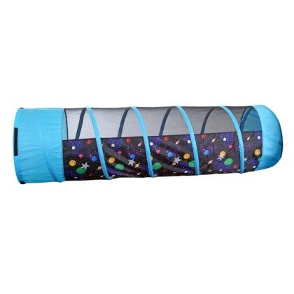 Galaxy 6 Ft Tunnel With Glow In The Dark Stars - Pacific Play Tents