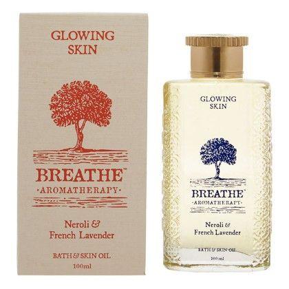 Glowing Skin Bath And Skin Oil - Breathe Aromatherapy