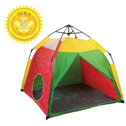 One Touch Play Tent- 48 In X 48 In X 36 In - Pacific Play Tents