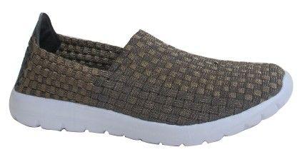 Ladies Sneakers-pewter1800 - CPC Sneakers