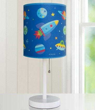 Olive Kids Out Of This World Cylinder Lamp - Wildkin