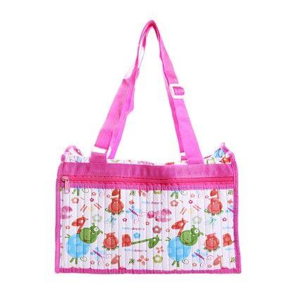Diaper Bag-pink - Morisons* Baby Dreams