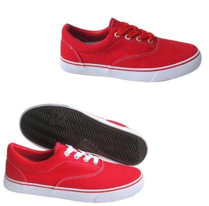 Ladies Sneakers-red717 - CPC Sneakers