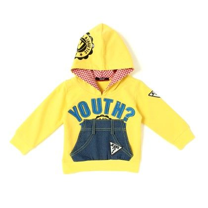 Noddy Yellow Hooded T-shirt -yellow