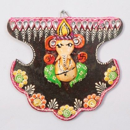 Fan Ganpati Wall Décor 1 - Color Crave