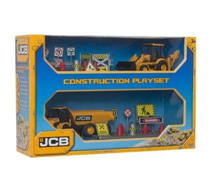 Jcb Construction Playset
