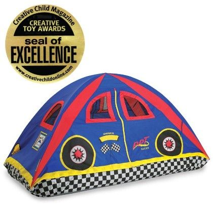 Rad Racer Bed Tent - 77inch X 38inch X 35inch - Pacific Play Tents