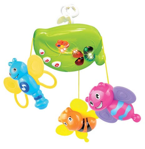 Mitashi Skykids Fun Animal Musical Mobile - Sky Kidz