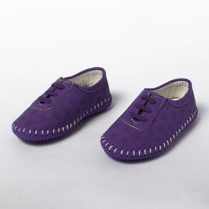 Elastic Lace Sneakers-purple - Best Shoes