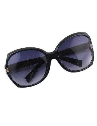 Fashionable Women Black Oversized Sunglasses - She In