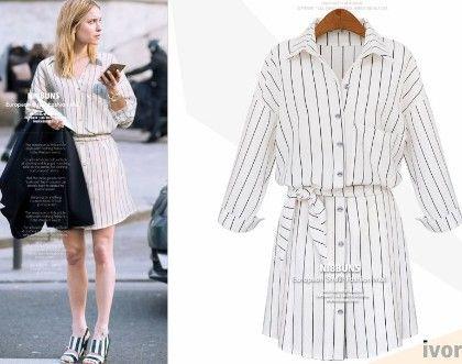 White Shirt Dress - Drape In Vogue