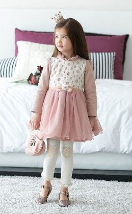Pink Party Wear Long Sleeves Dress - Sassy Girl