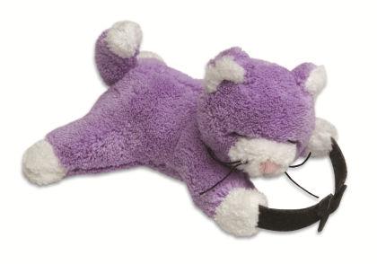 Bag Buddies Purple Cat - Ton Ton For Kids