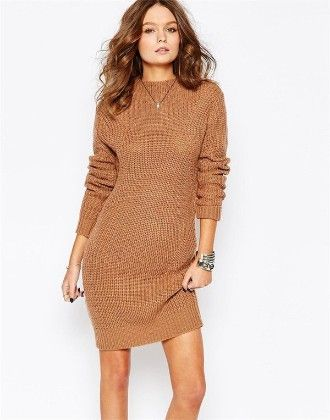 Cosy Witer One-piece Dress - Drape In Vogue