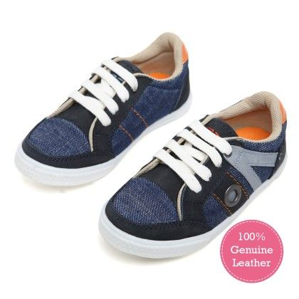 Tuskey Blue Grey Canvas Shoe - Tuskey Shoes