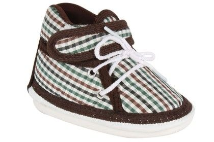 Ole Baby Velcro Whistle Musical Outdoor Shoes Brown