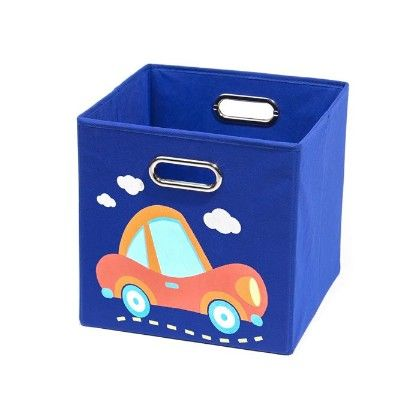 Nuby Dark Blue Car Folding Storage Bin - Modern Little