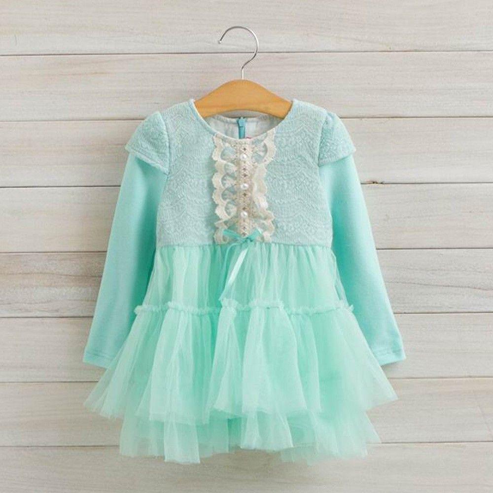 Mint Party Wear Dress - Petite Kids Best Deals With Price Comparison ...