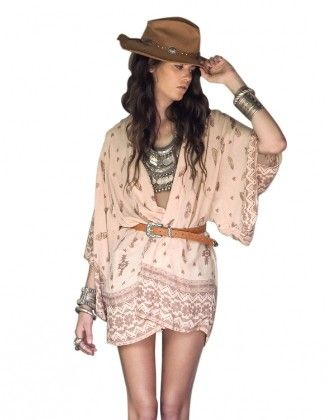 Chiffon Printed Cape - Oomph