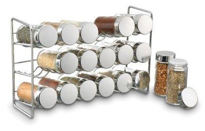 18-jar Compact Spice Rack - Polder Housewares