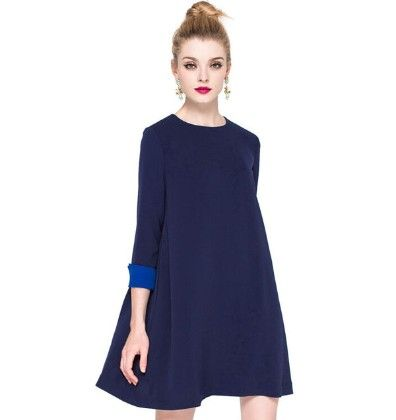 Blue Magic Dress - Drape In Vogue